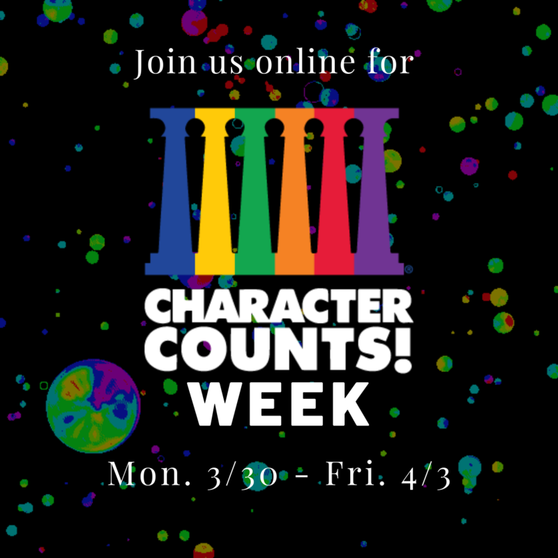 Character Counts Week - ONLINE! Featured Photo