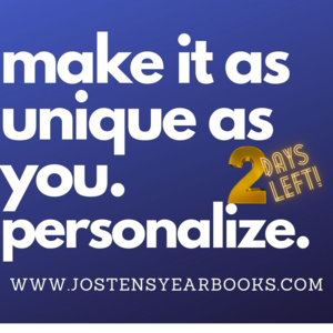Personalize your Yearbook