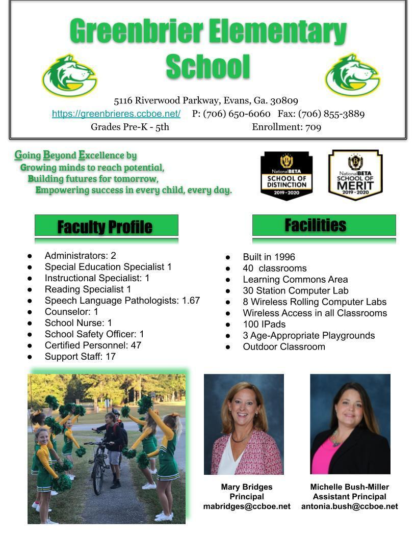 GBE School Profile