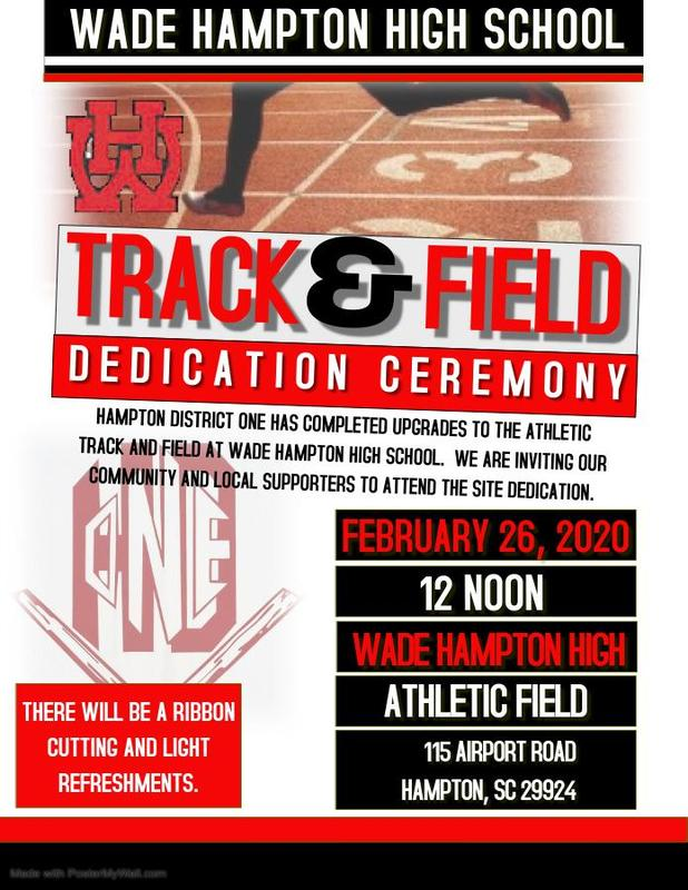 Track and Field Dedication