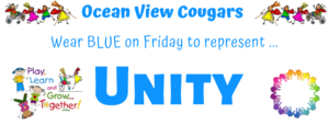 Wear Blue on Friday