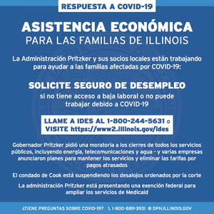 economic assistance graphic Spanish
