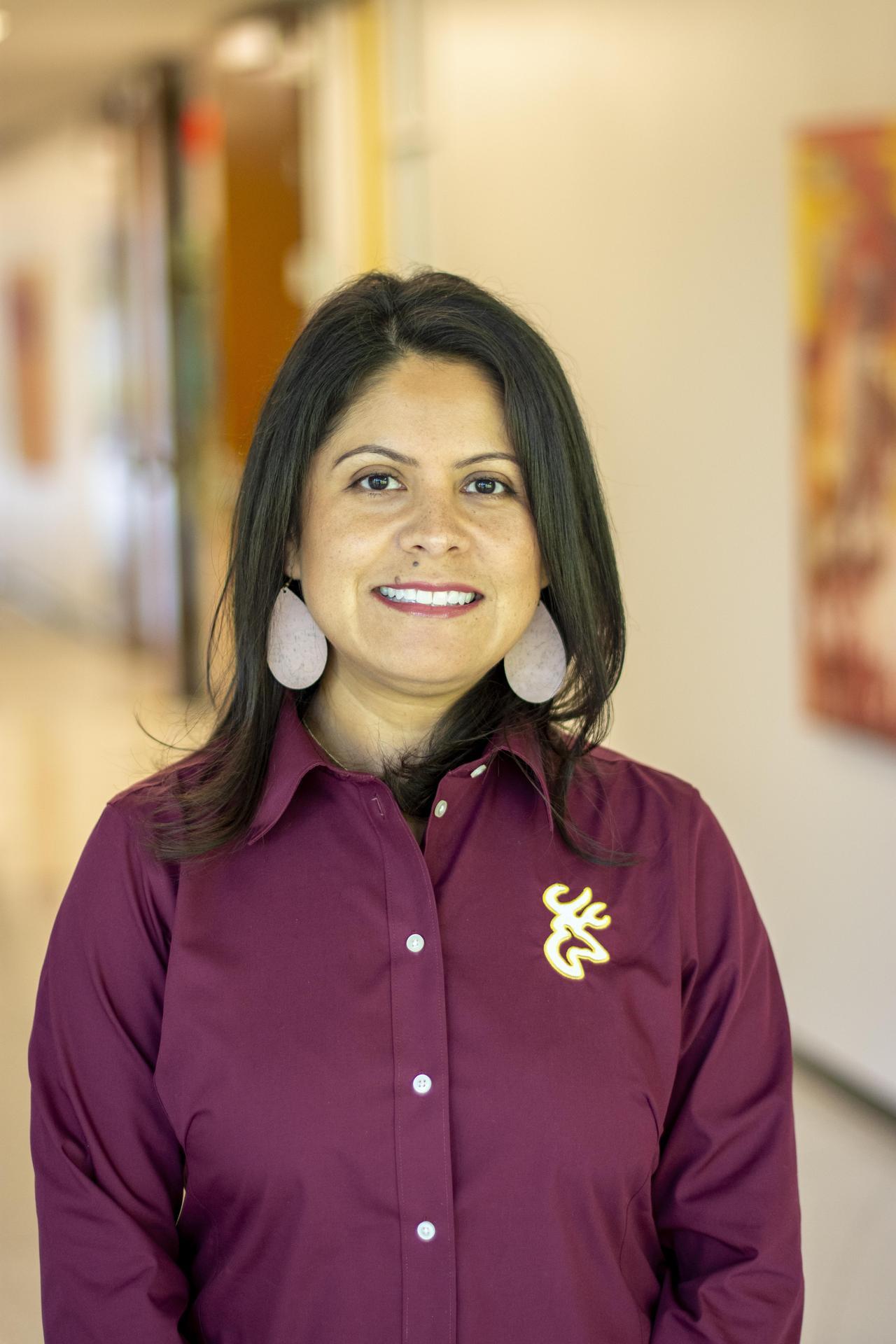 Head shot photo of Deer Park Elementary Assistant Principal Janet Cavazos