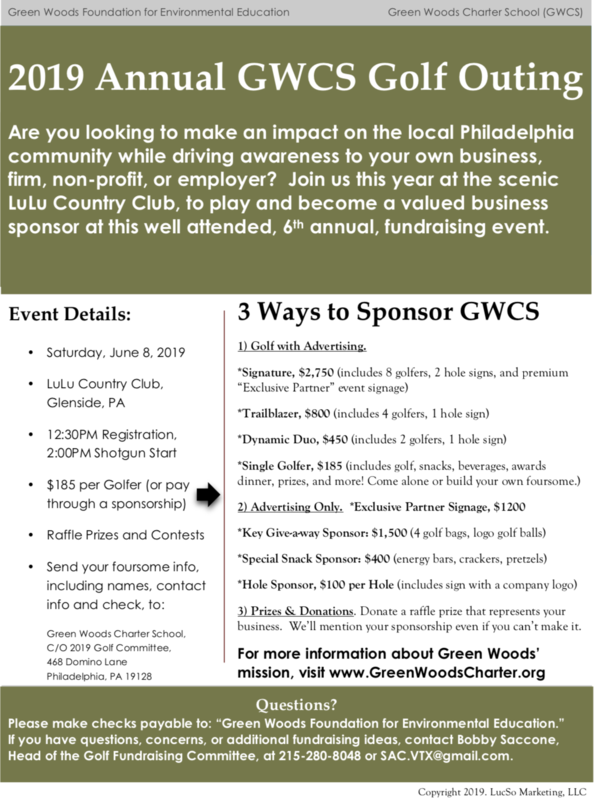 2019 Annual GWCS Golf Outing Featured Photo