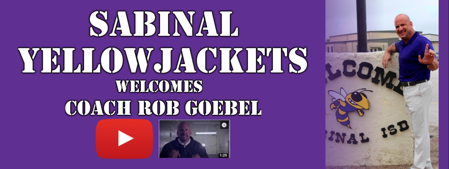 Welcome Coach Goebel