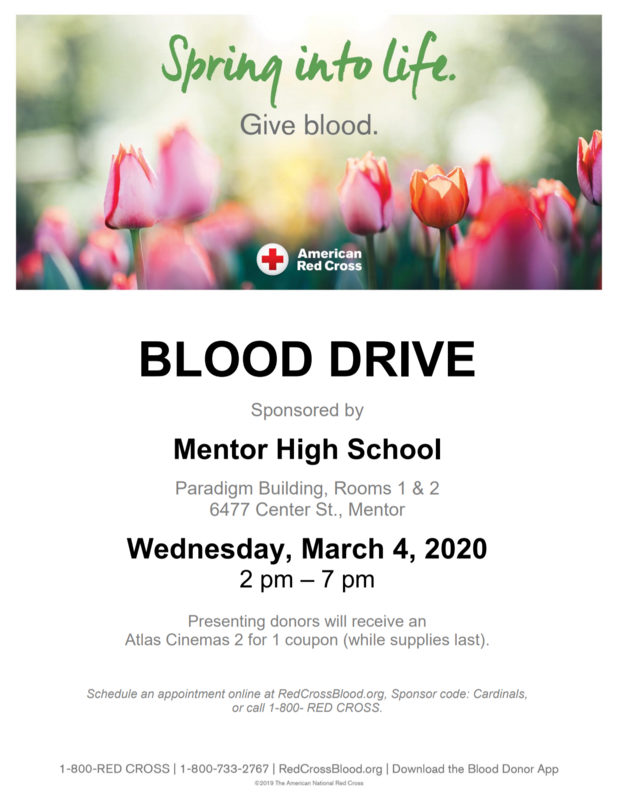 Blood Drive March 4