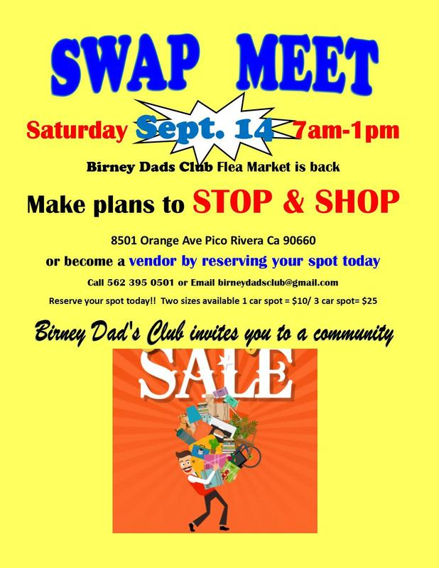 Swap Meet Flyer
