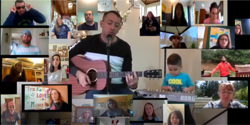 Don't Worry, Be Happy! An uplifting music video message from our Windham Center School Family Thumbnail Image