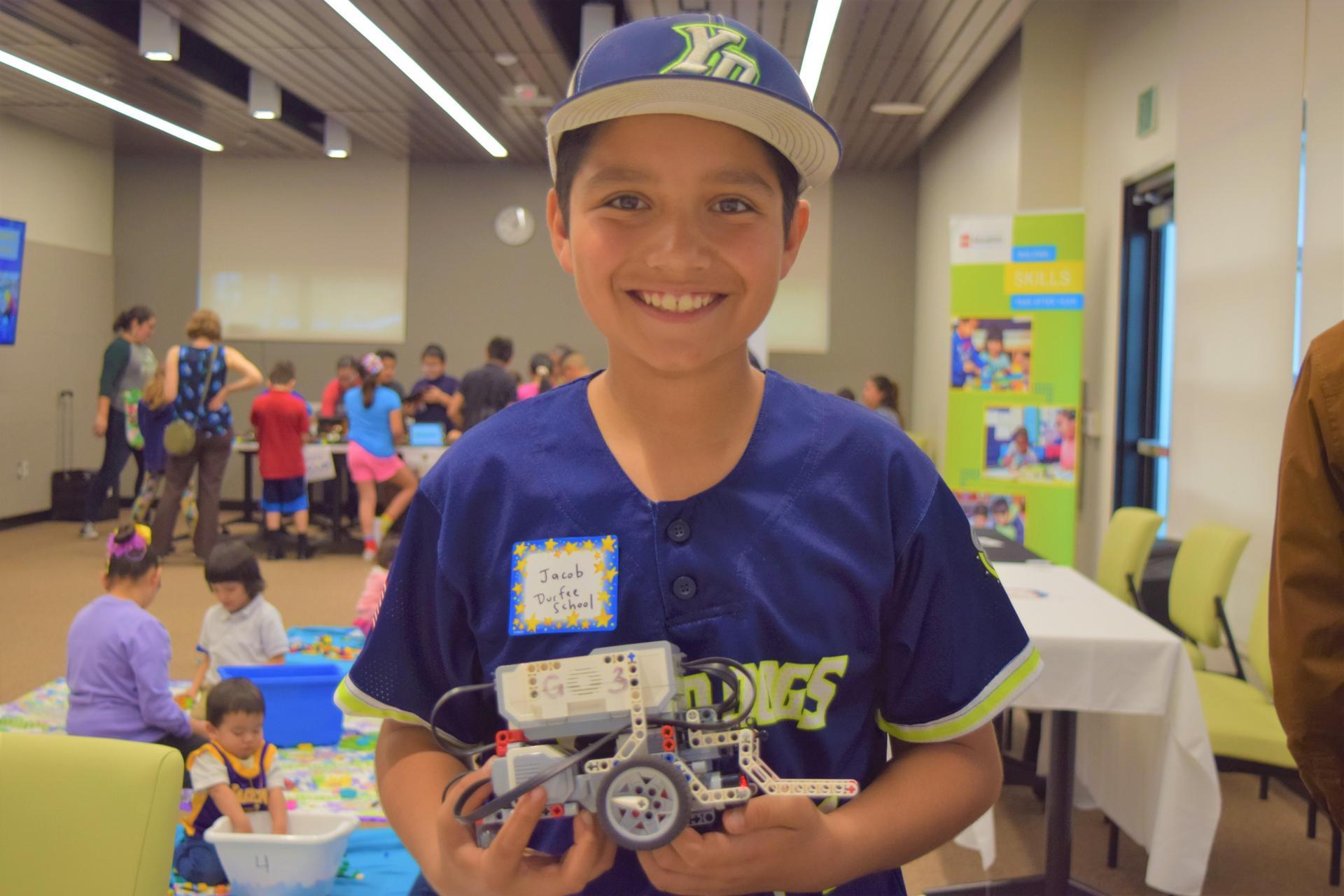 EMCSD Student at District Tech Fair 2/27/2020