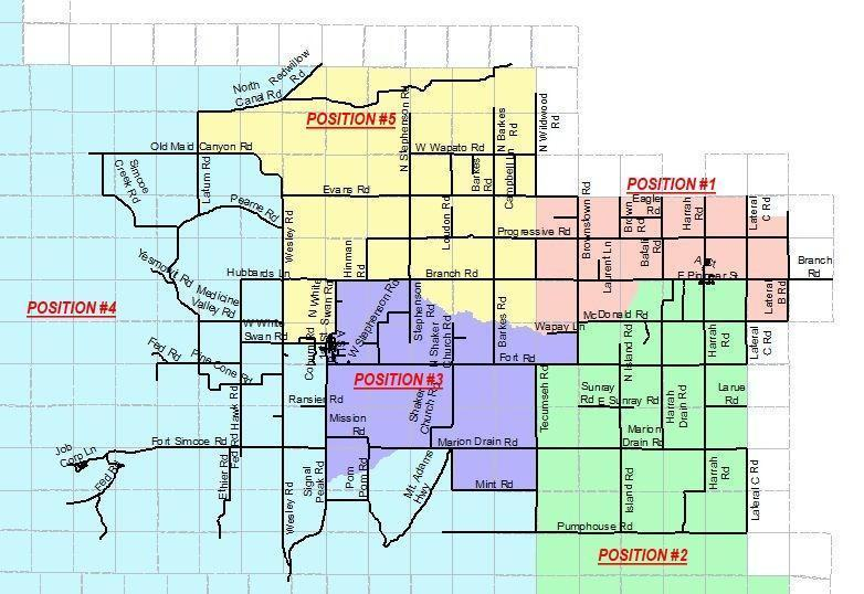 MASD District Boundary Map