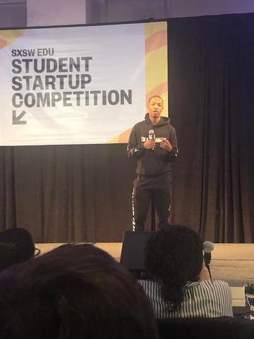 FLH Senior Jalen Rodney travels to Austin TX for the #SXSWEDU - Student StartUp Competition. Featured Photo
