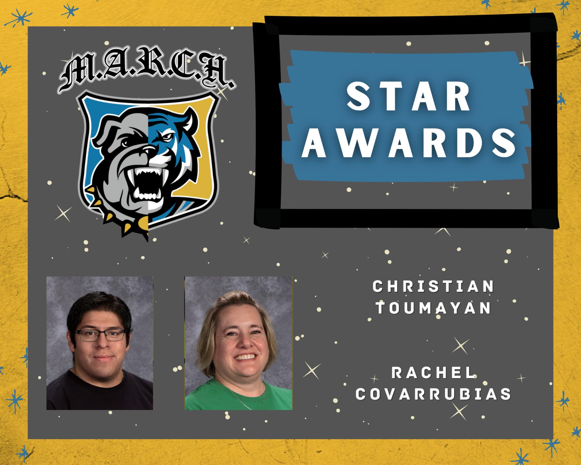 Team MARCH: STAR Awards-Staff
