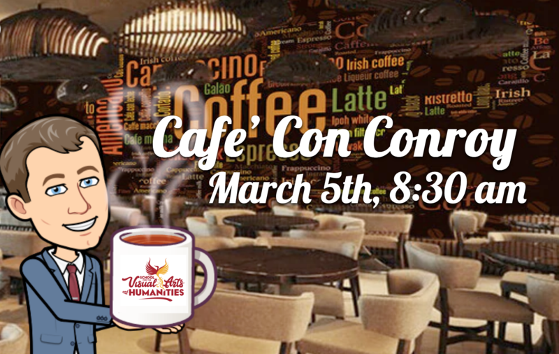 Cafe' Con Conroy : March 5, 2021 Featured Photo