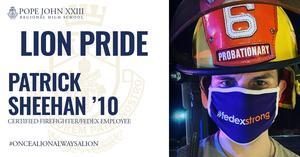 Patrick Sheehan Lion Pride