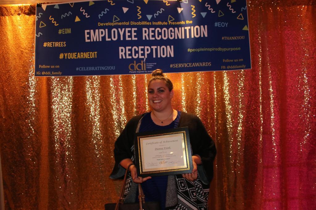 5-Year Service Award recipient