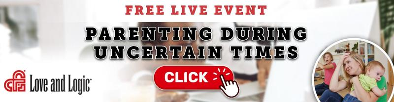 Online Parenting Event January 12th - Love & Logic