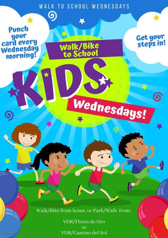Every Wednesday is Walk to School Day Featured Photo