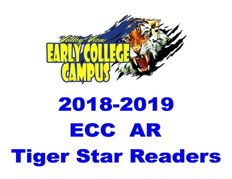 2018-2019 ECC Tiger Star Readers!! Thumbnail Image