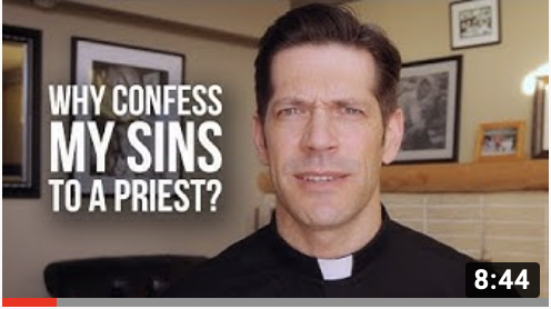 Why confess to a priest