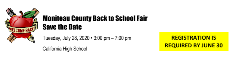 Back to School Fair Thumbnail Image