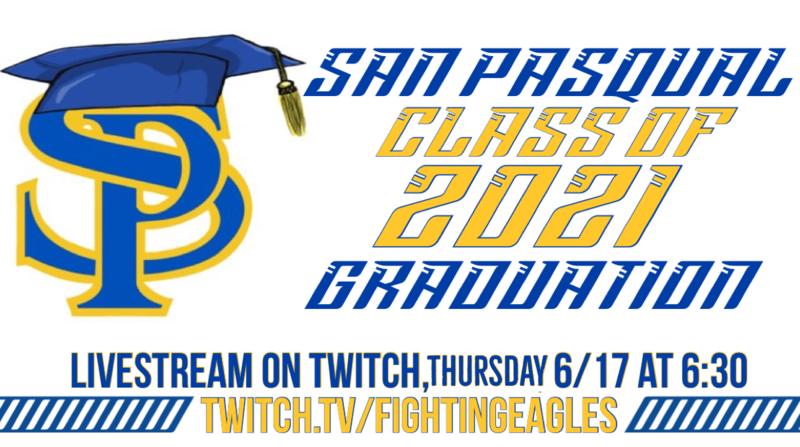 Class of 2021 Graduation Live Stream Thumbnail Image