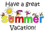 Have a great summer vacation!