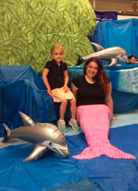 picture with a mermaid