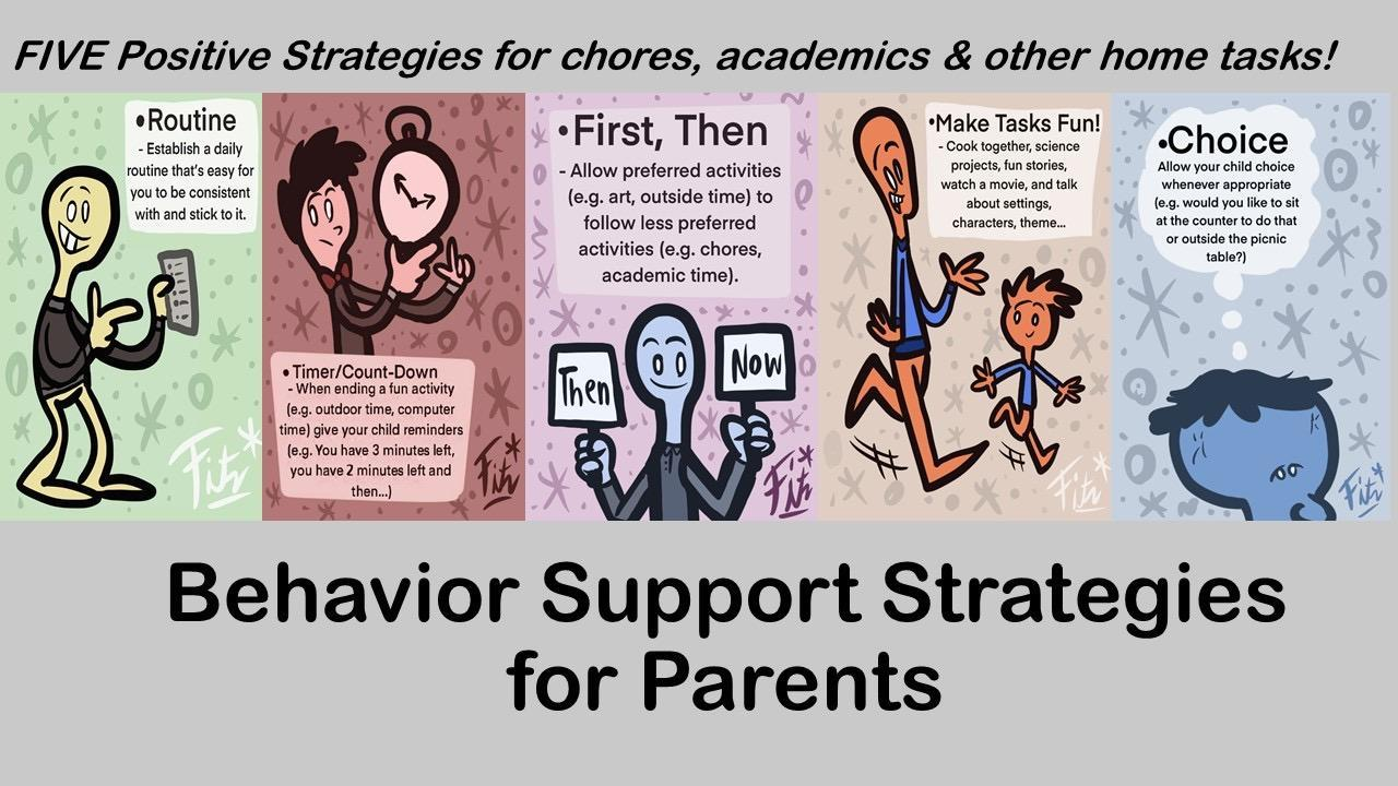 Five Behavior Support Strategies for Parents