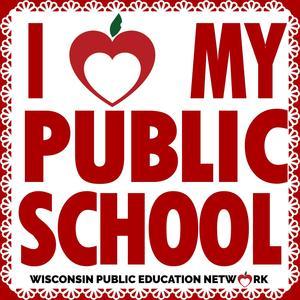 i love public schools logo