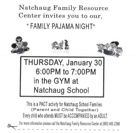 Family Resource Center Pajama Night Thumbnail Image