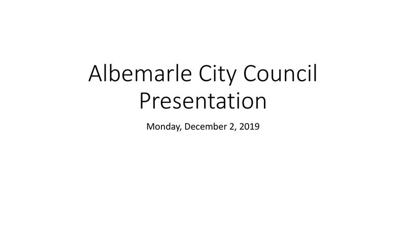 City Council Presentation 2019