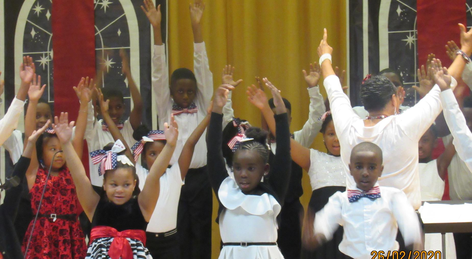 Lower Lee Performs at the LCSD African-American Heritage Celebration