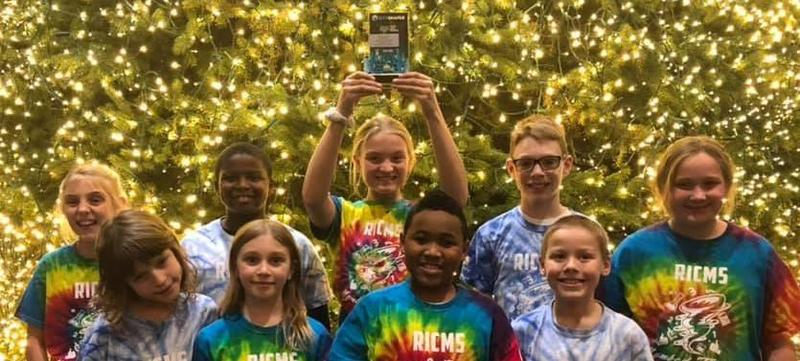 RICMS Lego Team Wins Best Project at Regional Competition Featured Photo