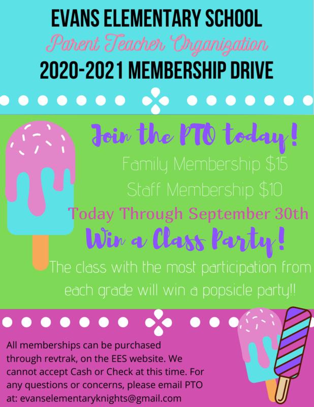 PTO Membership Drive