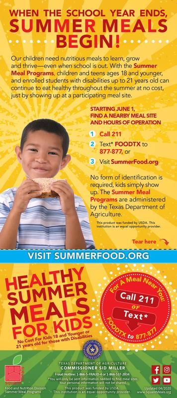 Summer Meals! Featured Photo