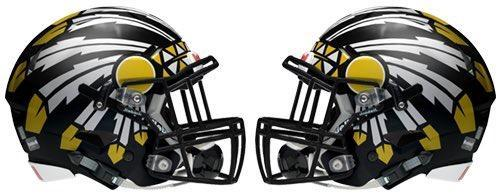 Seminole Indian Football Helmets