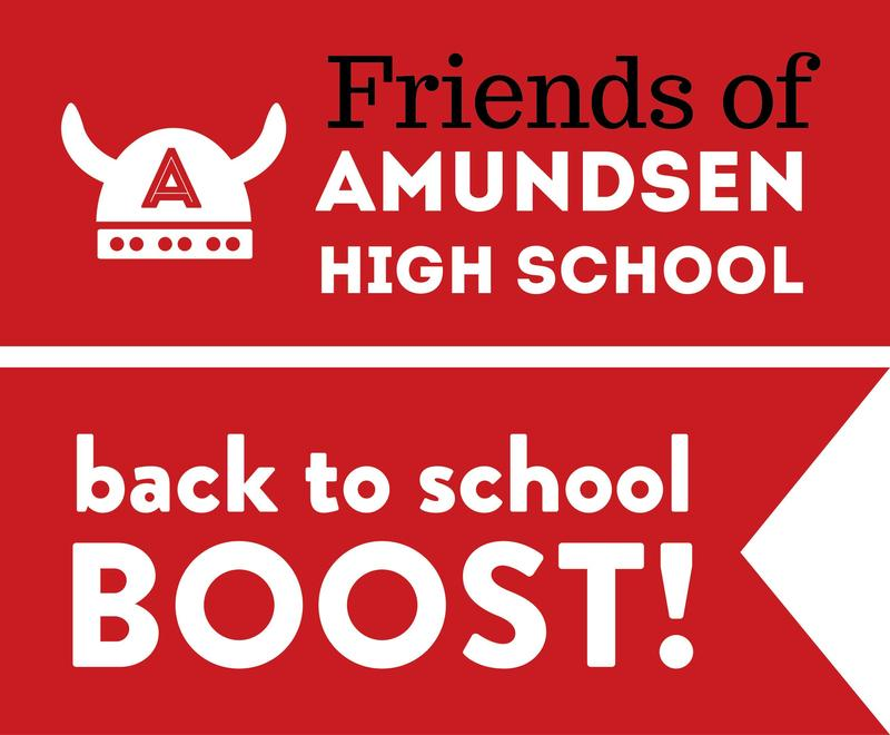 Friends of Amundsen Back to School Boost Starts Monday August 3rd! Featured Photo