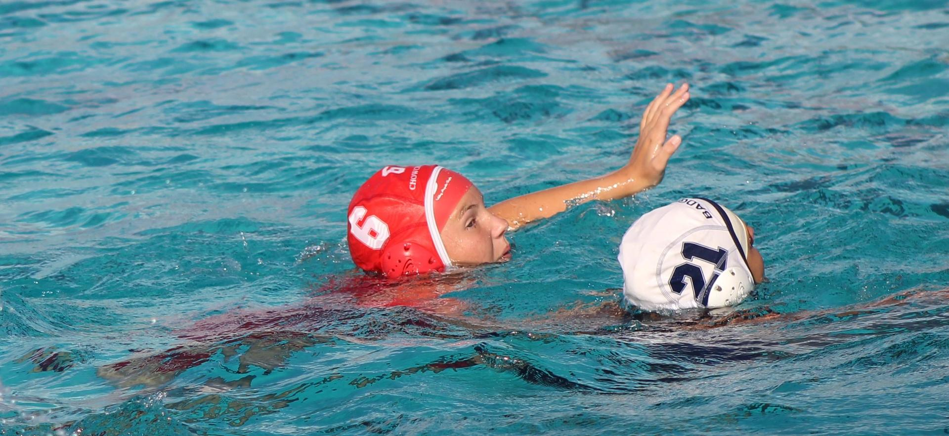 Varsity Girls Water Polo Game Against Yosemite