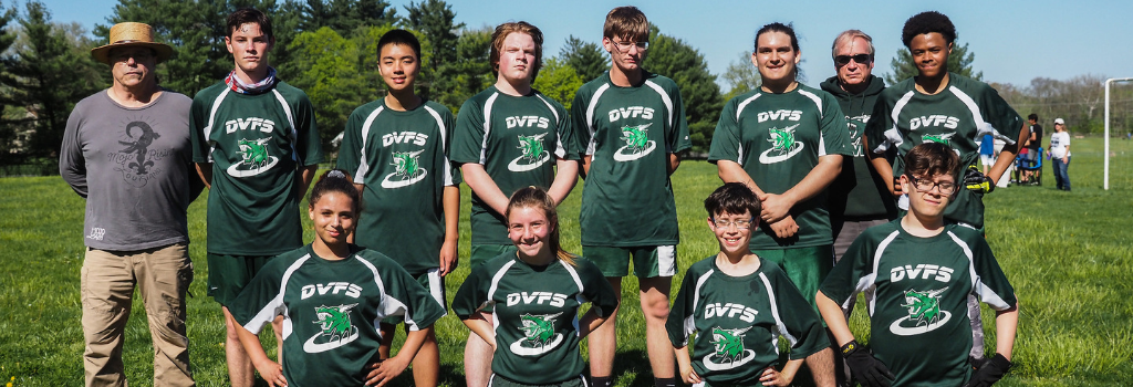 DVFriends Ultimate Frisbee Team 2019