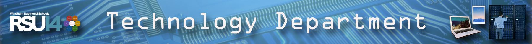 Technology Department Banner