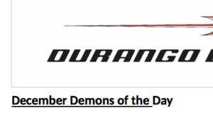 Screen Shot of Demon of the Day Document