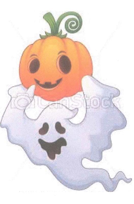 Ghost & Pumpkin