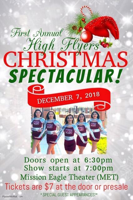 Highflyers ramp up for a Christmas performance Featured Photo