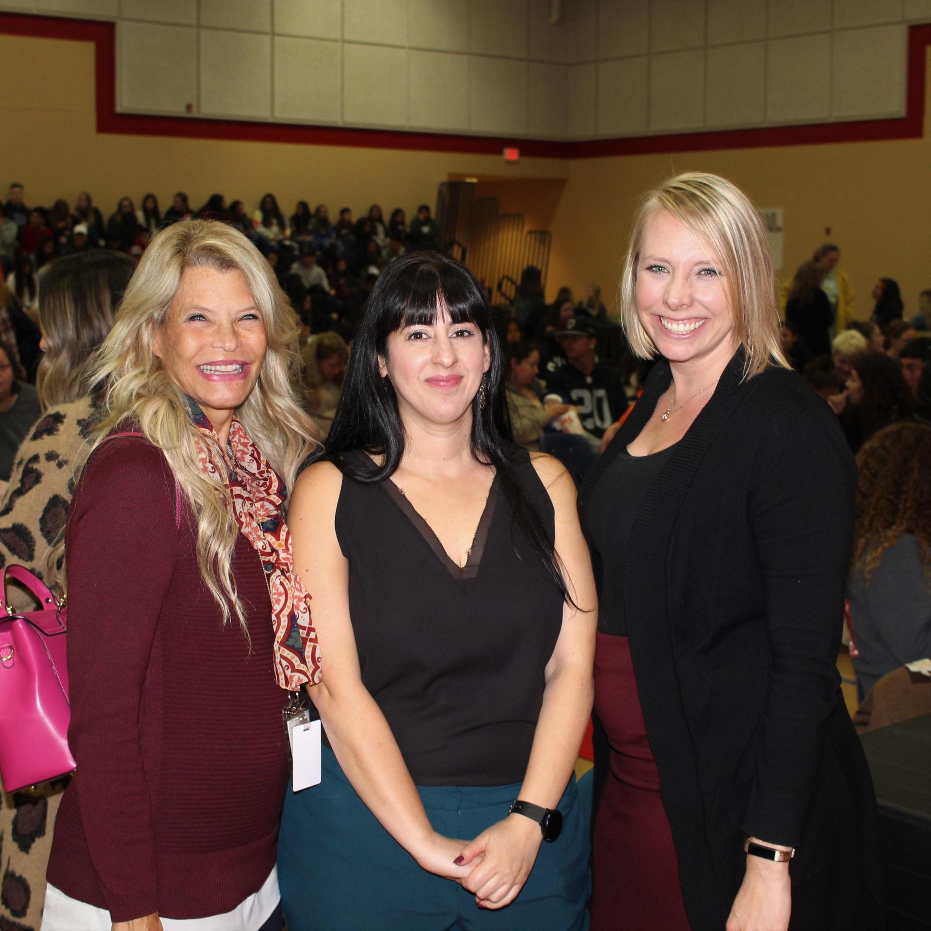 Ms. Meek Mills, Ms. Placencia, Mrs. Chapman