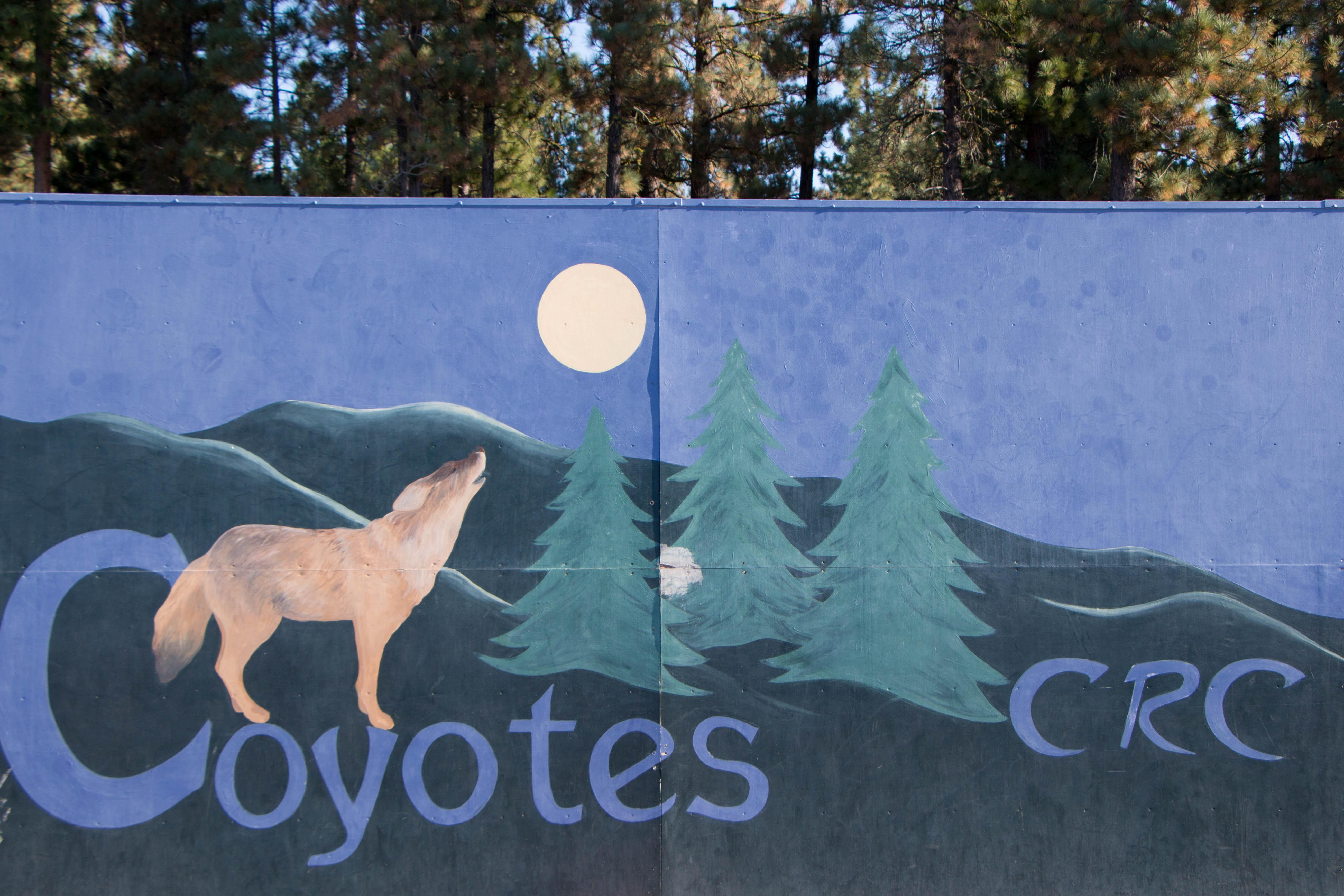 CRC Coyote Sign
