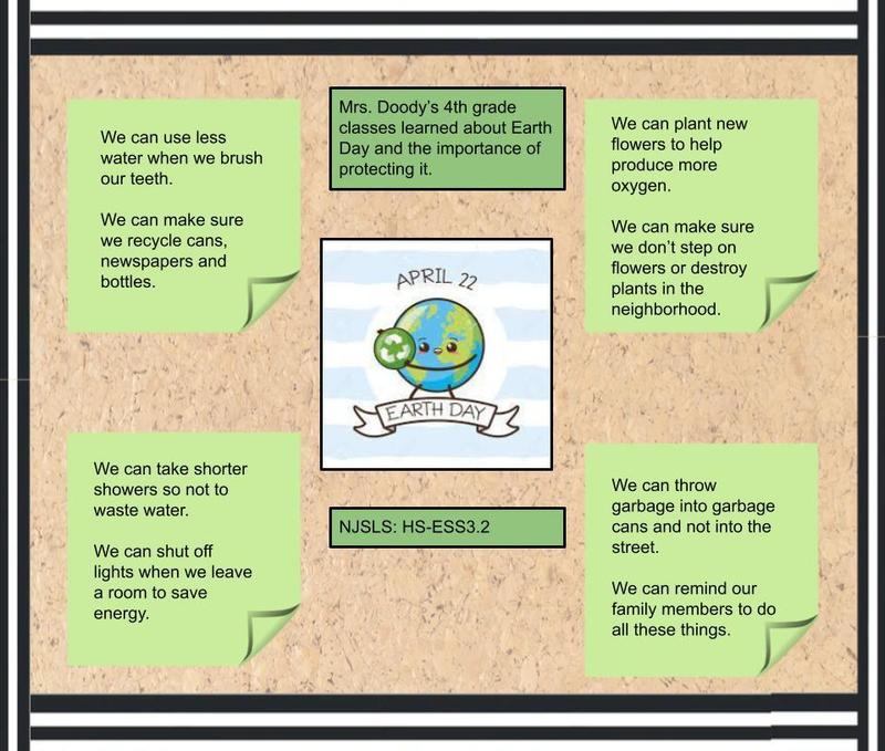 Conservation tips for Earth Day collage