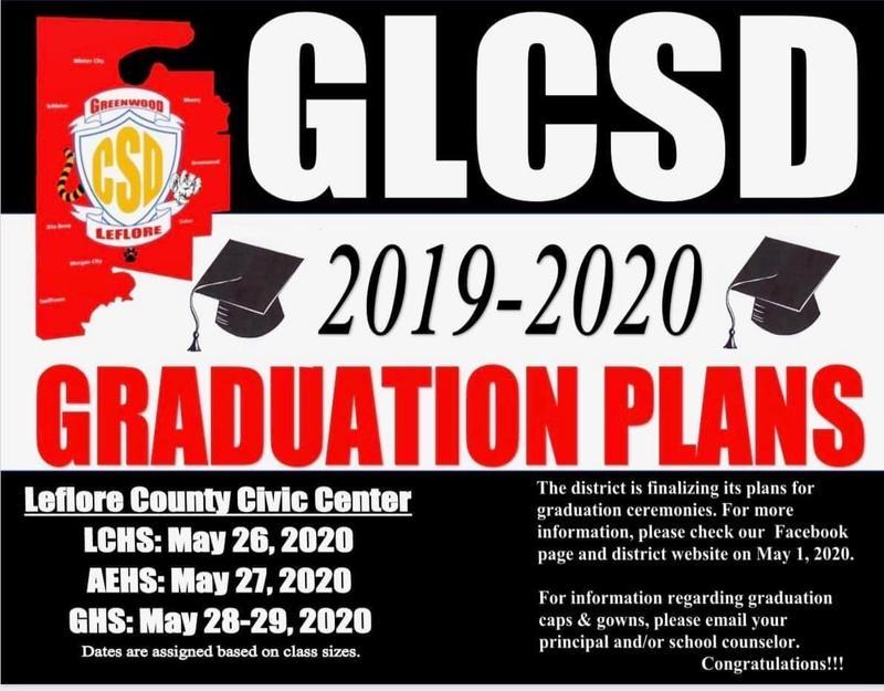 GLCSD Graduation Plans 2019-2020 Featured Photo