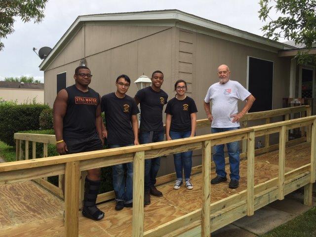 CLHS JROTC Community Service Project