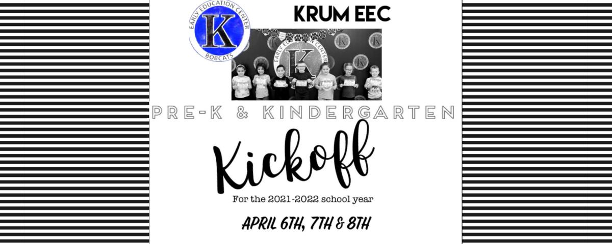 kinder registration promo graphic