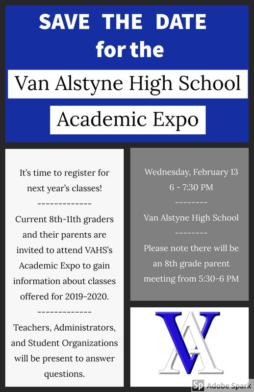 VAHS Academic Expo- February 13 Thumbnail Image